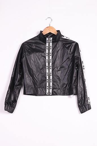 Veste casual noir BOOHOO pour femme