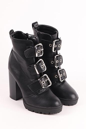 Bottines/Boots noir NEW LOOK pour femme