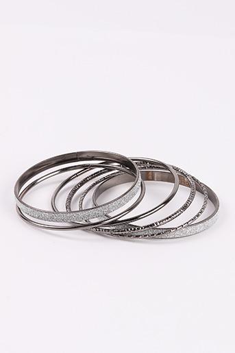 Bracelet Jonc gris CLAIRE'S pour femme