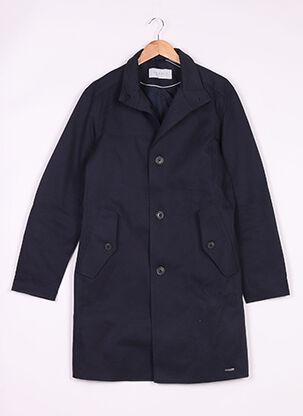 Manteau long bleu ESPRIT pour homme