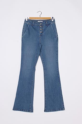 Jeans bootcut bleu CAMAIEU pour femme