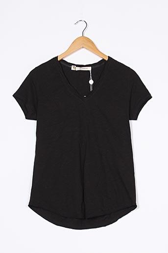 T-shirt manches courtes noir 303 AVENUE pour femme