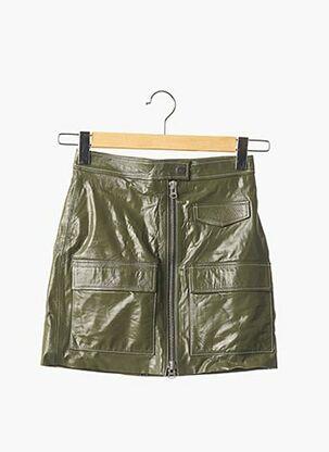 Mini-jupe vert STOCKHOLM ATELIER pour femme