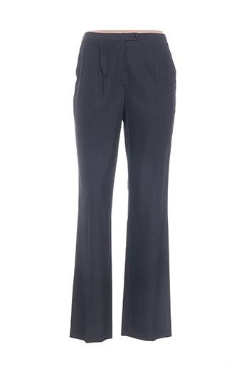 Pantalon chic gris ANGELA DAVIS pour femme