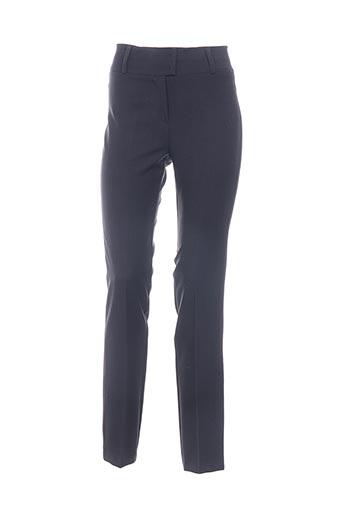 Pantalon chic gris CHIQUITA pour femme
