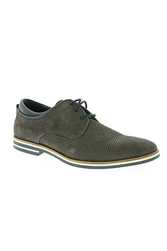 hipness chaussures homme de couleur gris