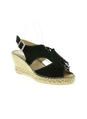 Sandales/Nu pieds noir CHACAL pour femme