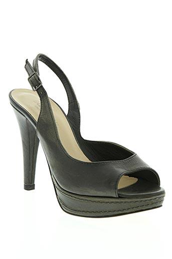 Sandales/Nu pieds noir DONNA PIU pour femme