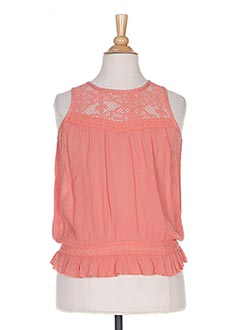 Top orange BECKARO pour fille