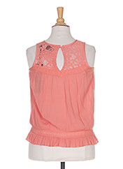 Top orange BECKARO pour fille seconde vue
