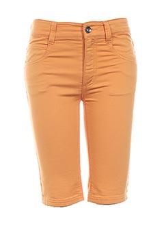Produit-Shorts / Bermudas-Fille-3 POMMES