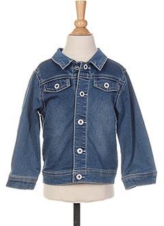 Veste en jean bleu 3 POMMES pour garçon