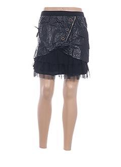 Jupe courte noir VIRGINIE & MOI pour femme