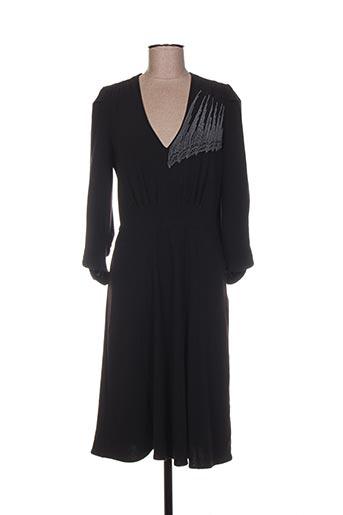 Robe mi-longue noir ARMAND VENTILO pour femme
