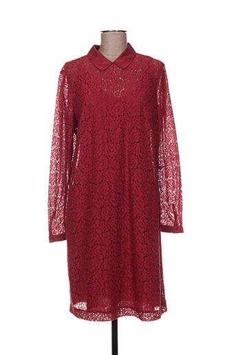 Robe mi-longue rouge ARMAND VENTILO pour femme