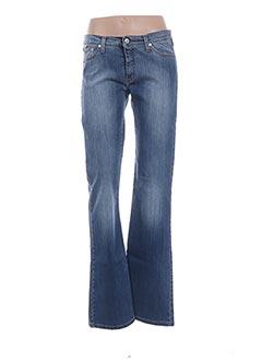 Jeans bootcut bleu VERSACE pour femme