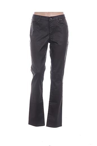 Pantalon casual marron ITALO WOMAN pour femme