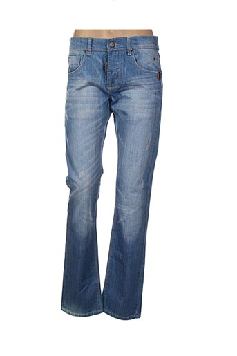 Jeans coupe droite bleu BIAGGIO pour femme