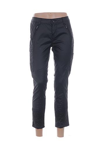 Pantalon 7/8 noir BISOU D'EVE pour femme