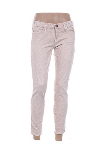 Pantalon 7/8 rose CURRENTE/ELLIOTT pour femme