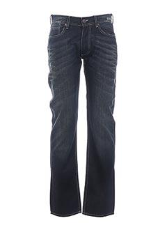 Jeans coupe droite bleu DEELUXE pour homme