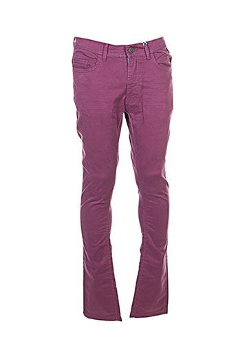 Pantalon casual violet FREEGUN pour femme