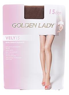 Collants marron GOLDEN LADY pour femme
