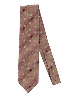 Cravate marron CHRISTIAN LACROIX pour homme