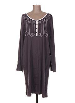 Chemise de nuit gris BELAMY pour femme