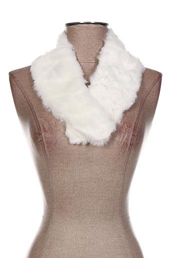 Echarpe blanc VIA LORENZO pour femme