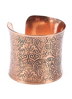 Bracelet Manchette rose VIA LORENZO pour femme