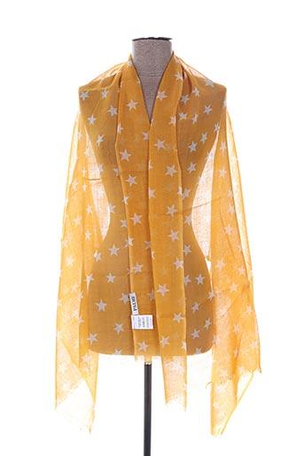 Foulard jaune PALME pour femme