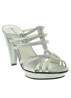 Sandales/Nu pieds gris BOCAGE pour femme