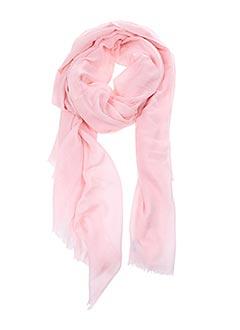 Foulard rose 8 AOUT pour femme