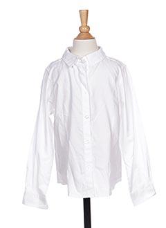 Chemise manches longues blanc NAME IT pour garçon