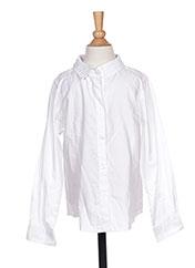Chemise manches longues blanc NAME IT pour garçon seconde vue