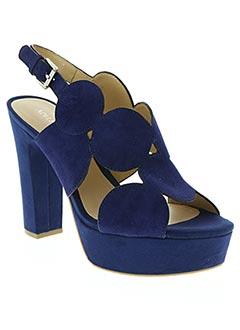 Sandales/Nu pieds bleu ADELE DEZOTTI pour femme