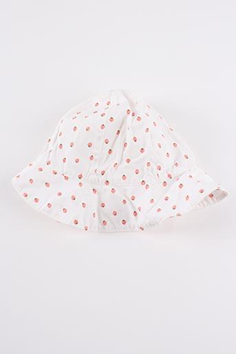 Chapeau blanc H&M pour fille