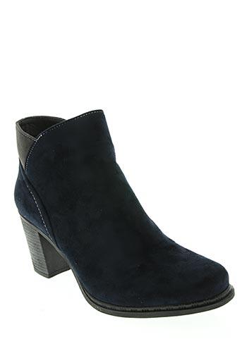 Bottines/Boots bleu DELIRES DE FILLE pour femme