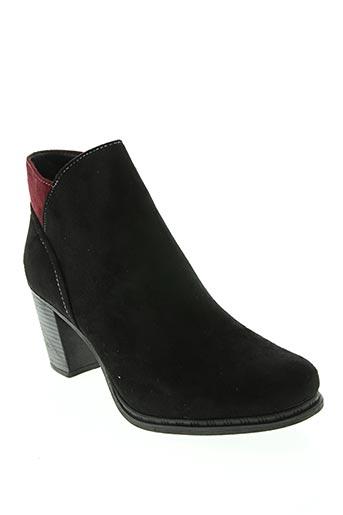 Bottines/Boots noir DELIRES DE FILLE pour femme