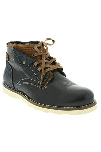 Royaume-Uni Excellente qualité qualité de la marque COTEMER Chaussures Bottines/Boots de couleur bleu en soldes pas cher  1324160-bleu00 - Modz