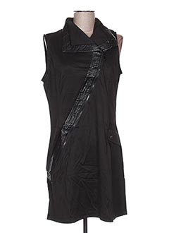Robe courte noir L33 pour femme