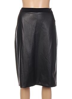 Jupe mi-longue noir JEAN DELFIN pour femme