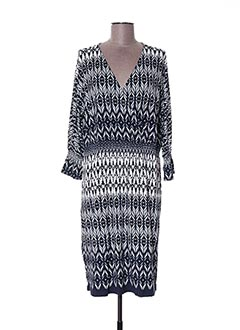 Robe mi-longue bleu D.SPORT pour femme