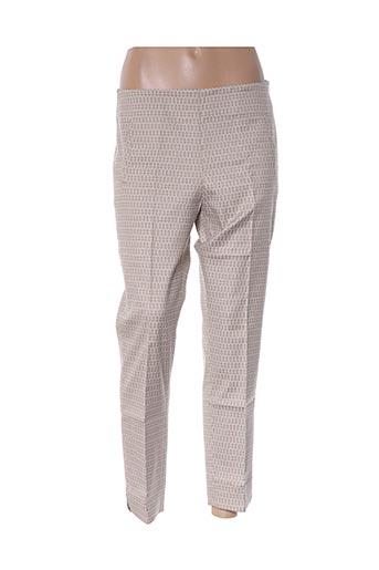 Pantalon 7/8 beige D.SPORT pour femme