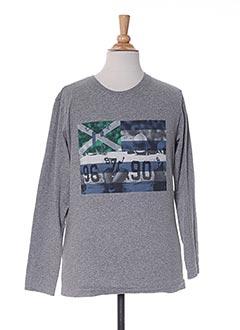 T-shirt manches longues gris NUKUTAVAKE pour garçon