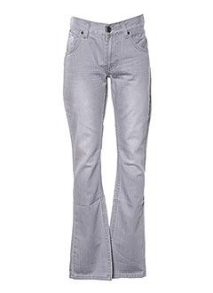 Jeans coupe droite gris JN-JOY pour garçon