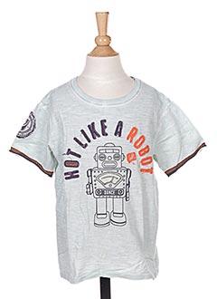 T-shirt manches courtes bleu JN-JOY pour garçon