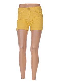 Produit-Shorts / Bermudas-Femme-B.S JEANS