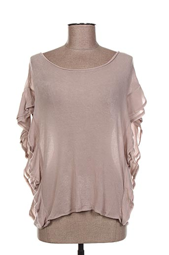 Pull col rond rose IRO pour femme